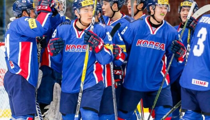 Korea is promoted to the top division
