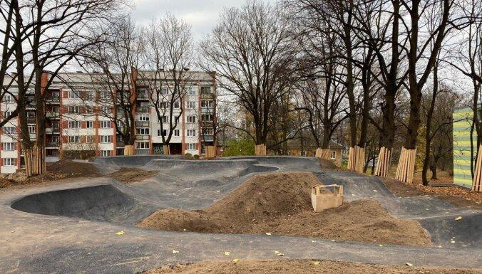 Aldara parkā šogad tiks izbūvēts veloparks