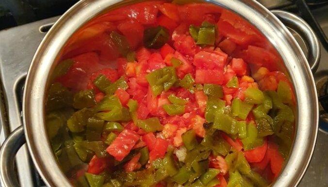 Elzas mammas garšīgā un smaržīgā tomātu mērce