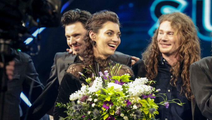 "ФОТО, ВИДЕО: Латвию на ""Евровидении"" представит дуэт Carousel"