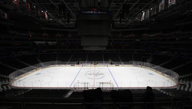NHL cer maija vidū atsākt ierobežotus treniņus
