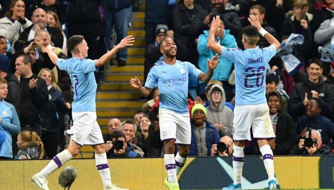 PSG, 'Tottenham Hotspur' un 'Manchester City' gūst graujošas uzvaras Čempionu līgā