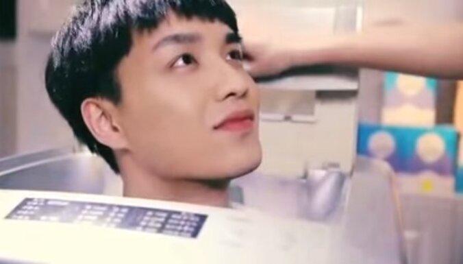 Video: Par rasistisku veļas balinātāja reklāmu kritizē Ķīnas uzņēmumu