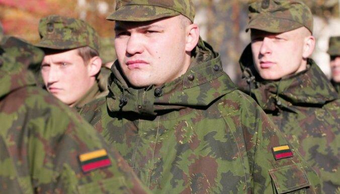 Литва возобновит обязательный призыв на воинскую службу