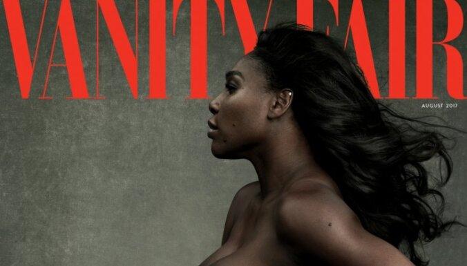 Беременная Серена снялась обнаженной для журнала