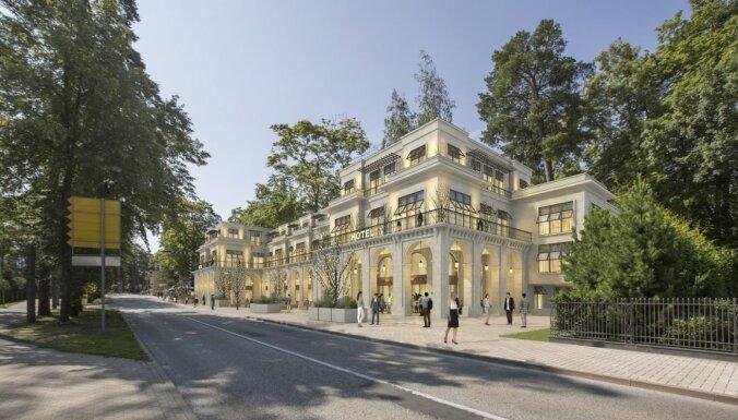 ФОТО: В Юрмале возле концертного зала Dzintari может появиться новый отель