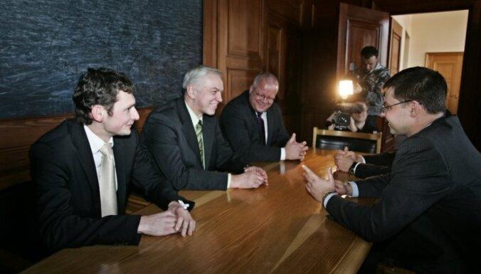 ZZS vērtējumu par četru partiju koalīciju sniegs pirmdien