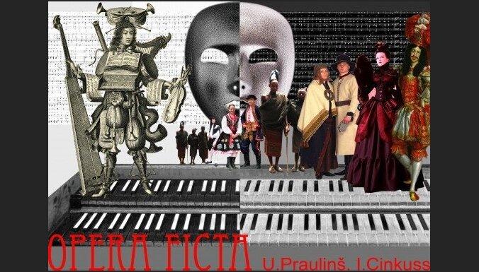 """Top Uģa Prauliņa folk-baroka """"Opera Ficta"""" jauniestudējums"""