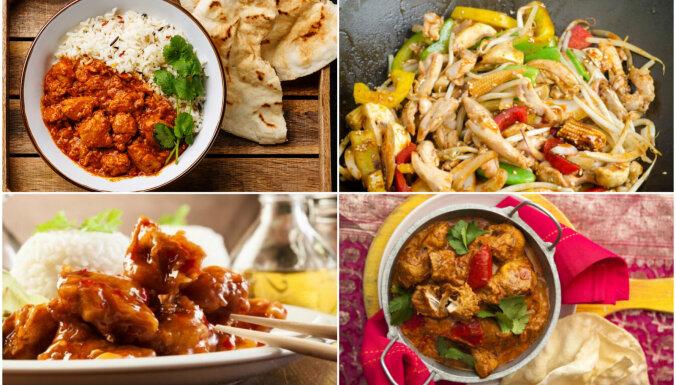 Vistiņa austrumu gaumē: vakariņu receptes eksotikas cienītājiem