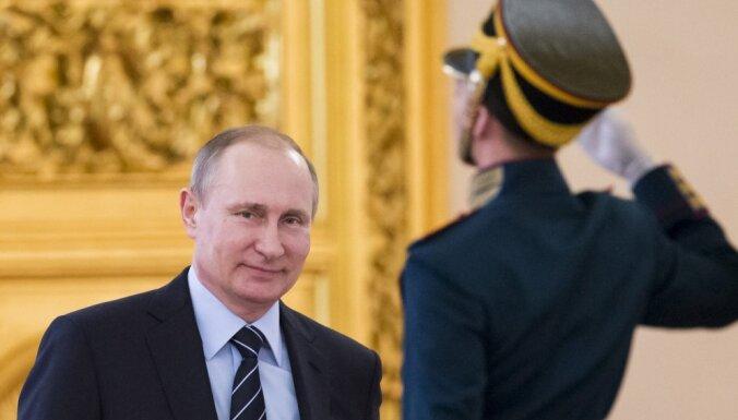 Путину вручили перстень победителя чемпионата России по хоккею