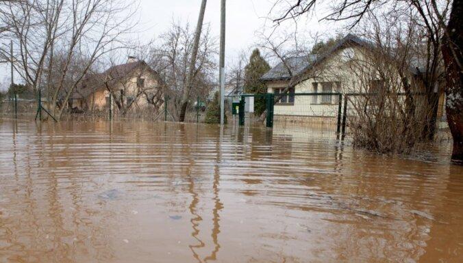 Ogrē plūdu seku novēršanai nepieciešami vairāk nekā divi miljoni latu