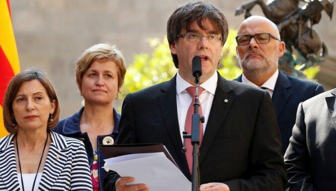 Лидера каталонских сепаратистов Пучдемона отпустили из тюрьмы на Сардинии
