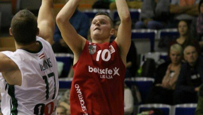 'Betsafe/'Liepāja' basketbolisti LBL spēlē uzvar 'Valmiera'/ORDO komandu