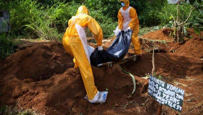 Sjerraleonē kaprači atsakās apglabāt no Ebolas vīrusa mirušos