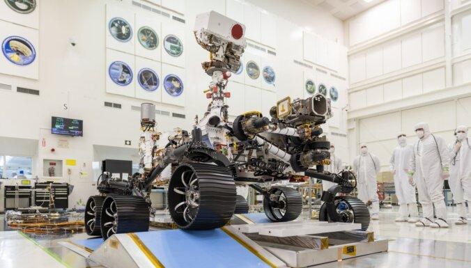 Septiņas šausmu minūtes – kā uz Marsa piezemēsies līdz šim sarežģītākais rovers