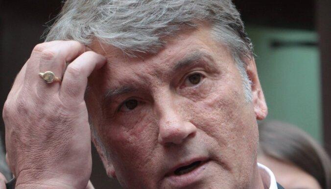 Nav šaubu, ka Krievija sarīkoja Skripaļa indēšanu, apgalvo Juščenko