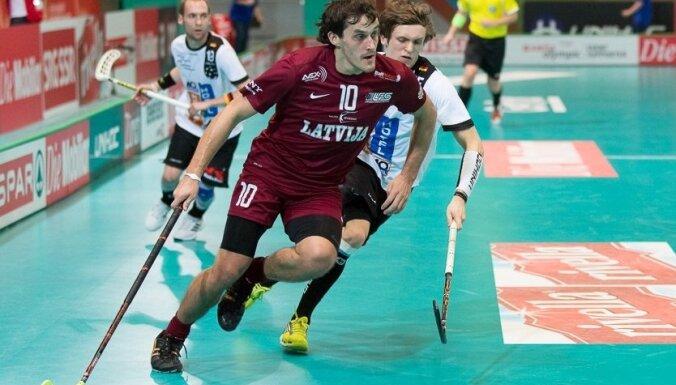 Флорболисты сборной Латвии вышли на чемпионат мира