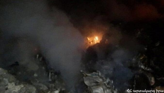 В Армении потерпел крушение российский военный вертолет