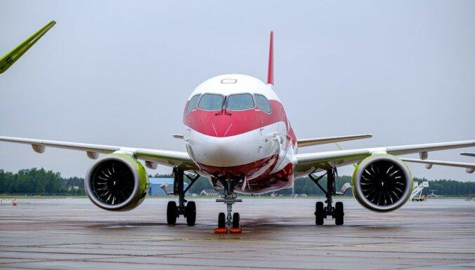 'airBaltic' uz laiku pārtrauc visus plānotos lidojumus no 17. marta