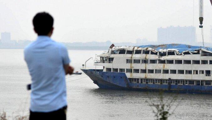 Kopumā Jandzi kuģa avārijā bojā gājuši 442 cilvēki