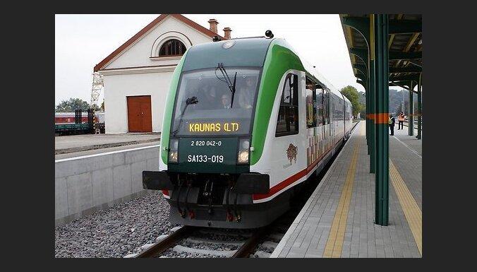 В Литве официально открыт отрезок Rail Baltica от Польши до Каунаса