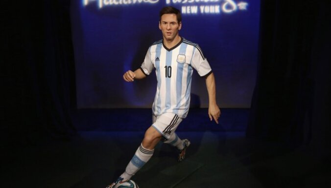 Madame Tussauds New York figure Lionel Messi