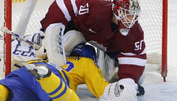 Сборная Латвии в упорной борьбе уступила шведам