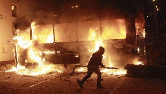 Беспорядки в Киеве: в столкновениях пострадали десятки человек