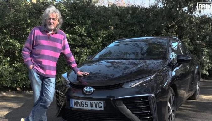 Бывший ведущий Top Gear Джеймс Мэй продает необычный автомобиль
