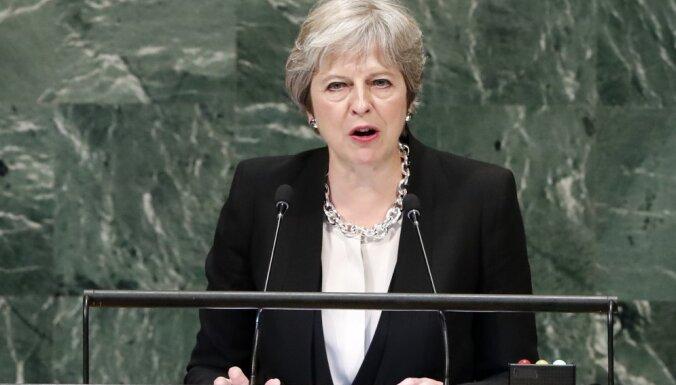 Тереза Мэй намерена добиваться новых санкций в отношении России