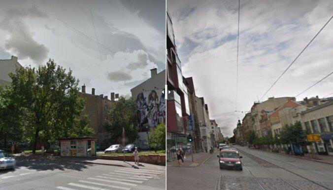 ФОТО: Как изменилась Рига за семь лет. Показывает Google Street View