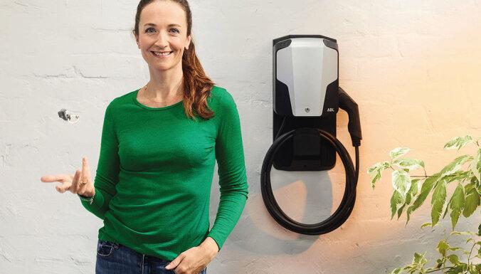 'Latvenergo' paplašina elektroauto uzlādes iespējas mājsaimniecībām