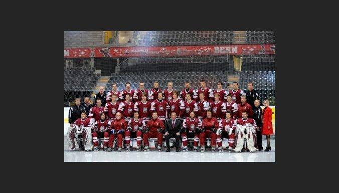 Фотосессия сборной Латвии
