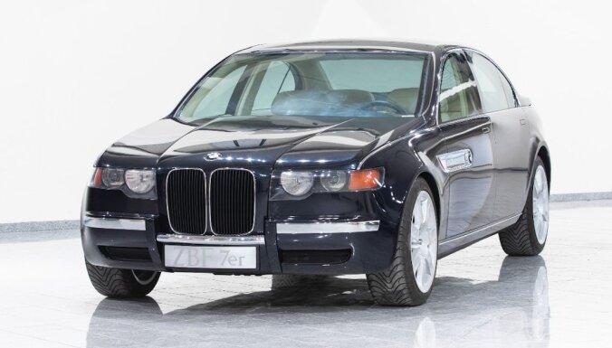 BMW parādījis līdz šim neprezentētu 90. gadu konceptu ar milzīgām 'nāsīm'