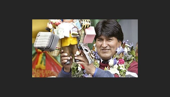 Эво Моралес переизбран президентом Боливии