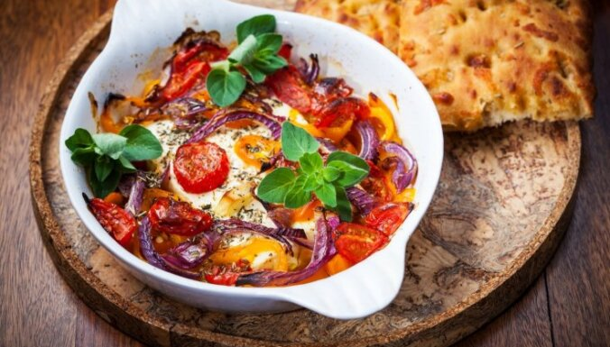 Вкуснейший овощной пирог-запеканка с сыром