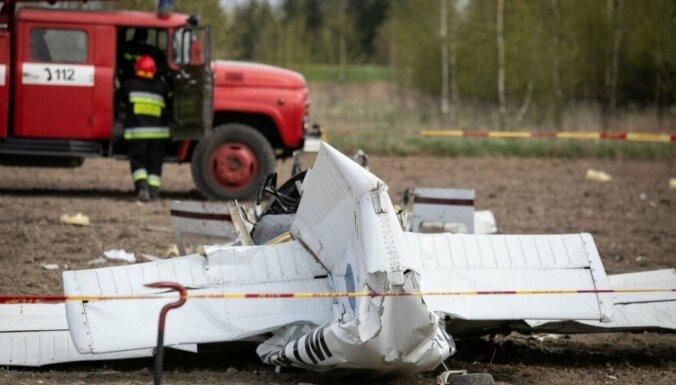Под Вильнюсом упал самолет: погибли два человека