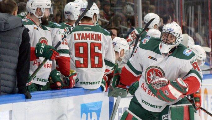 KHL beidzot vērš uzmanību uz 'Covid-19' un aptur spēles līdz 10. aprīlim