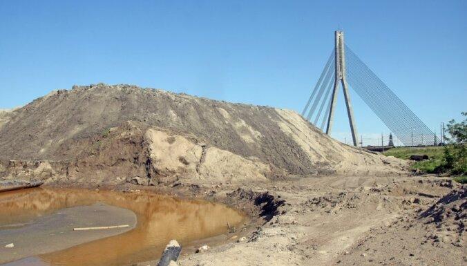 На Кипсале восстановят променад по берегу реки