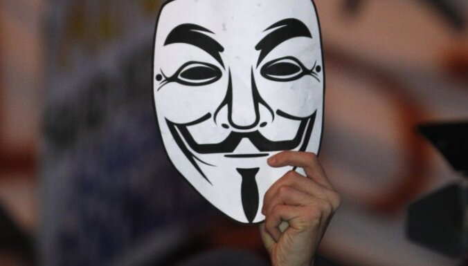 Hakeru grupa 'Anonymous' uzlauž Izraēlas galvenās interneta vietnes