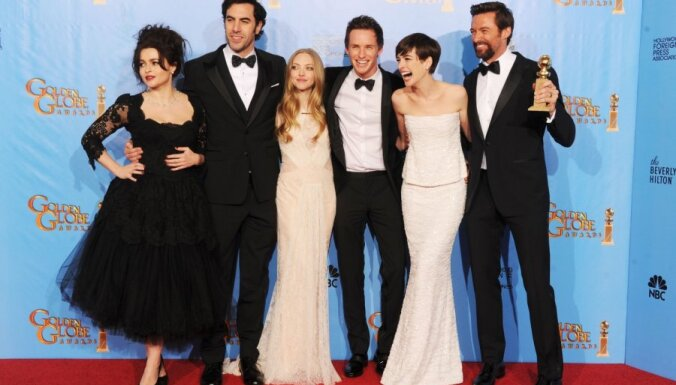ASV pasniegti 'Zelta globusi' labākajām filmām, aktieriem un režisoriem