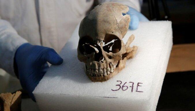 В Мехико обнаружили 500-летнюю башню из человеческих черепов