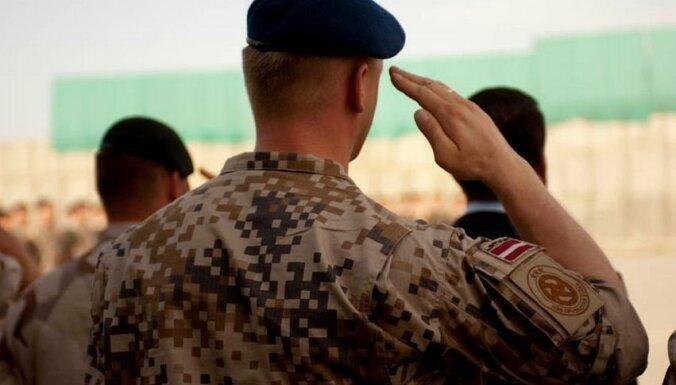 Латвийских военных переведут из Ирака в Кувейт