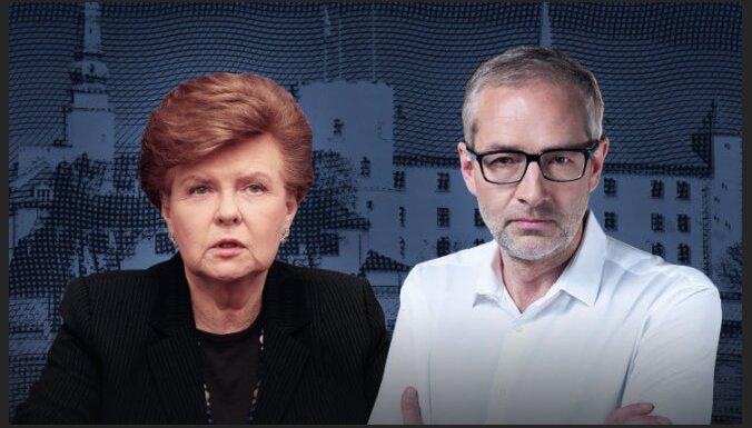 """Delfi TV с Янисом Домбурсом"": в студии Вайра Вике-Фрейберга"