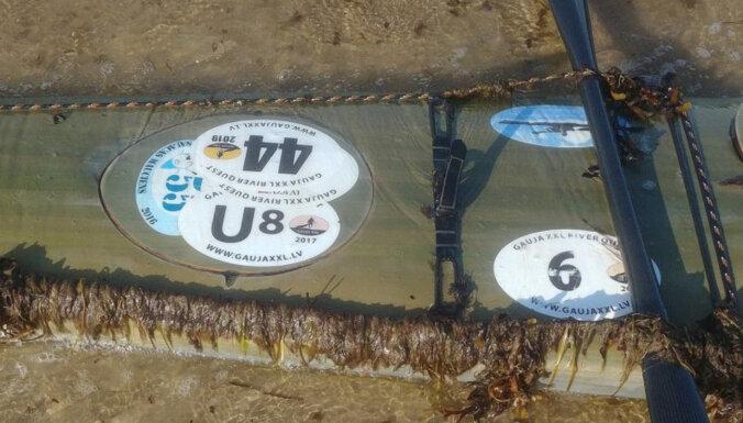 У берегов Эстонии найден каяк пропавшего в Балтийском море Айгиса Аудерса