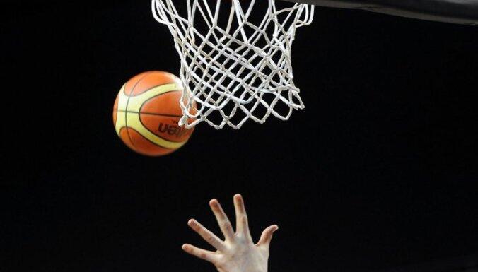 'VEF Rīga' basketbolistiem pārliecinoša uzvara LBL spēlē