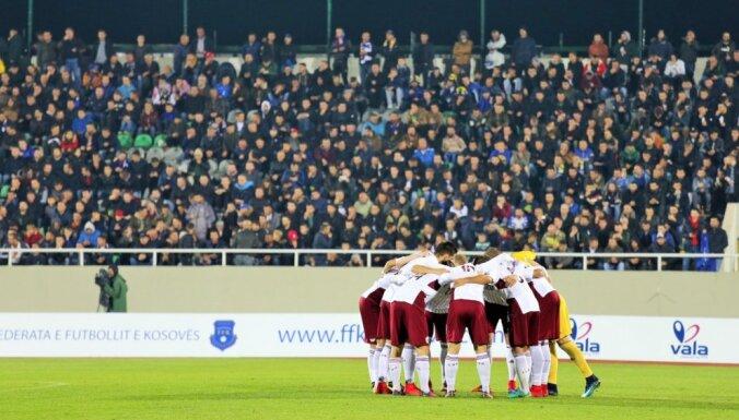 Latvijas futbola izlase februārī aizvadīs pārbaudes spēli ar PK dalībnieci Dienvidkoreju