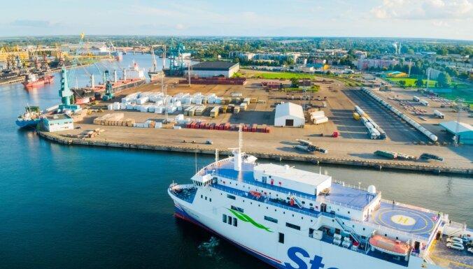 'Stena Line' Ventspilī paraksta ilgtermiņa līgumu