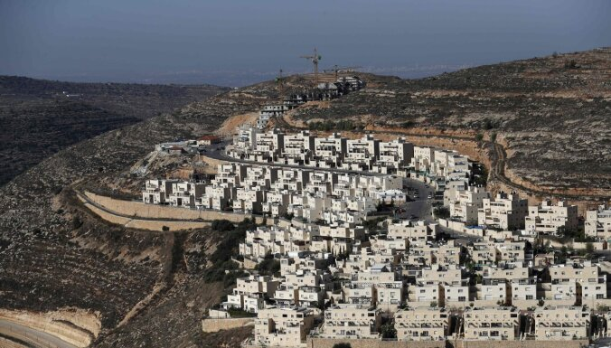 ES: Izraēliešu apmetnes okupētajās Palestīnas teritorijās ir starptautisko tiesību pārkāpums