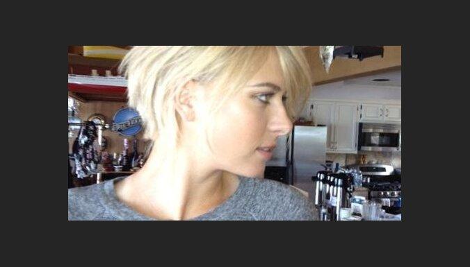 Фото: шокировавшая интернет стрижка Шараповой оказалась париком ... | 385x676